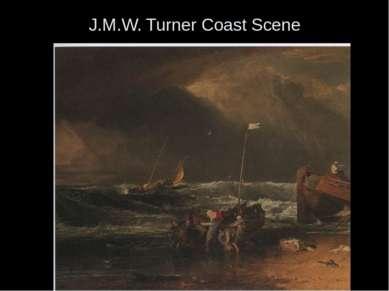 J.M.W. Turner Coast Scene