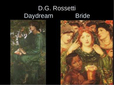 D.G. Rossetti Daydream Bride