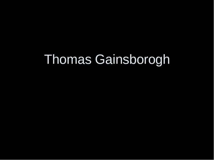 Thomas Gainsborogh