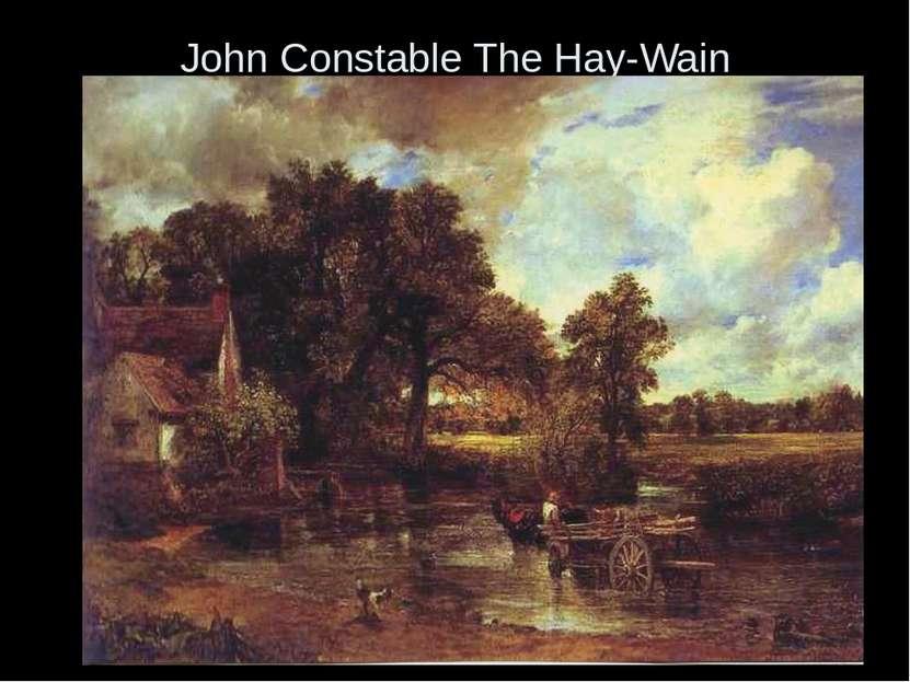John Constable The Hay-Wain