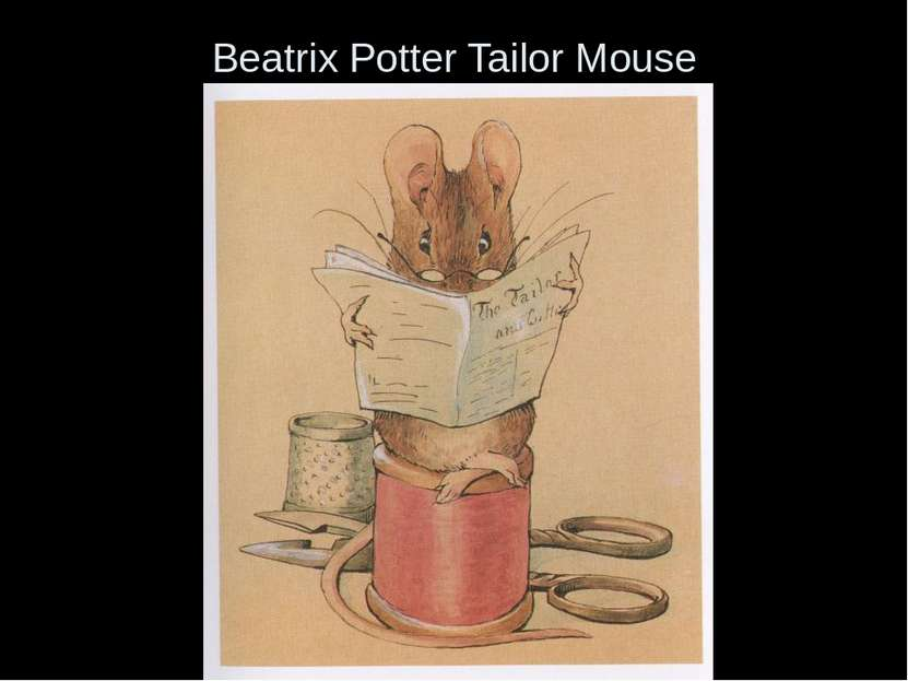 Beatrix Potter Tailor Mouse