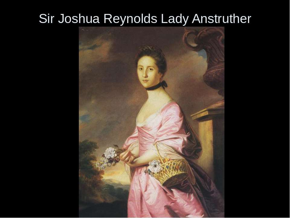 Sir Joshua Reynolds Lady Anstruther