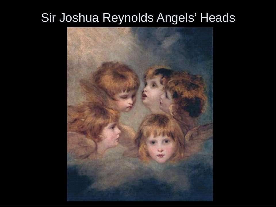 Sir Joshua Reynolds Angels' Heads