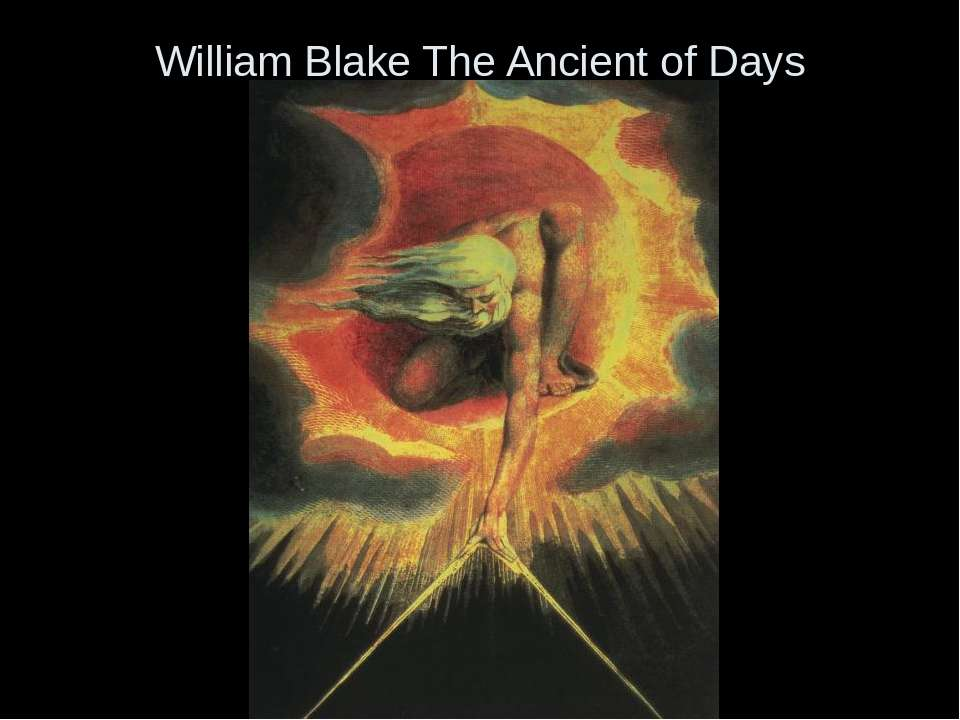 William Blake The Ancient of Days