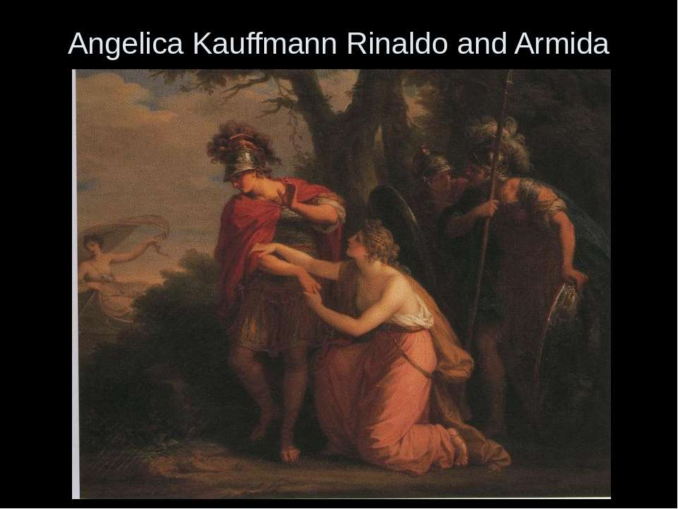 Angelica Kauffmann Rinaldo and Armida