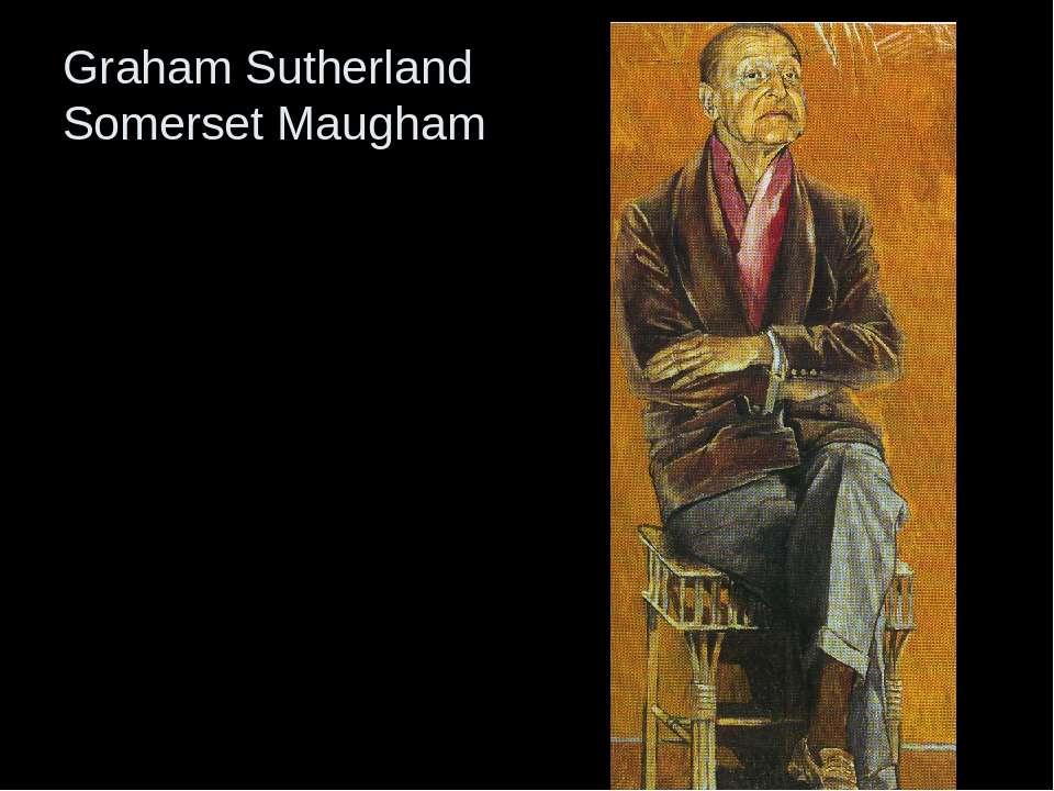 Graham Sutherland Somerset Maugham