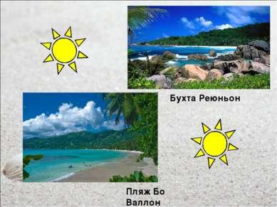 Бухта Реюньон Пляж Бо Валлон