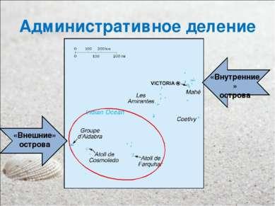 Административное деление «Внешние» острова «Внутренние» острова