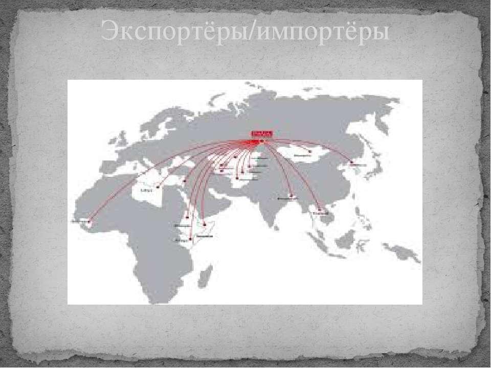 Экспортёры/импортёры
