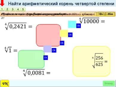 VN Найти арифметический корень четвертой степени 1 Арифметический корень втор...