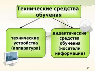Технические средства обучения технические устройства (аппаратура) дидактическ...