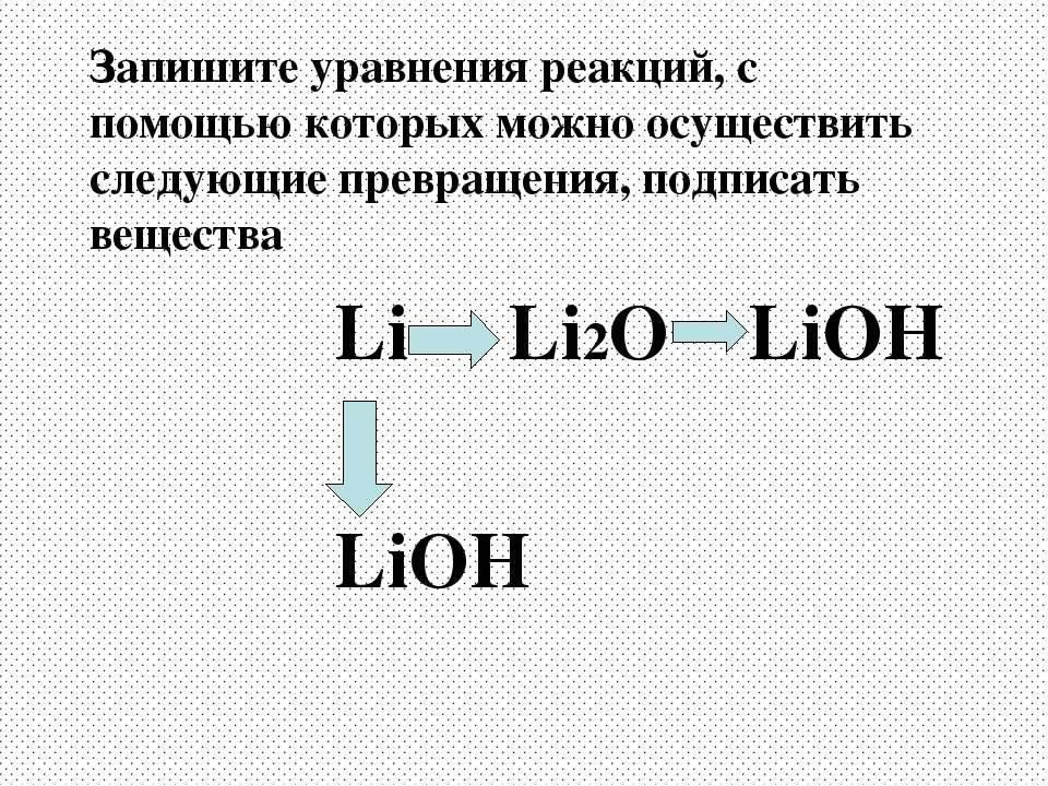 Запишите уравнения реакций, с помощью которых можно осуществить следующие пре...