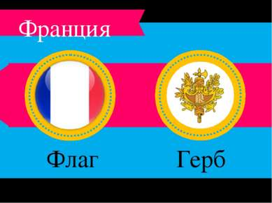 Флаг Франции Герб Франции Франция