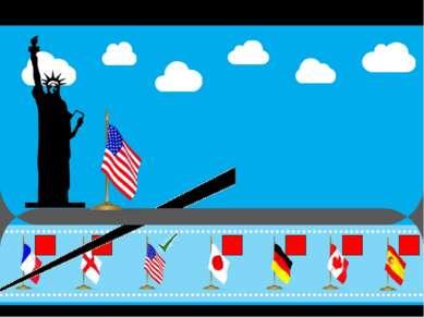 Что это за страна ? (выбери правильный флаг) Верно ! Это США! Продолжим свой ...
