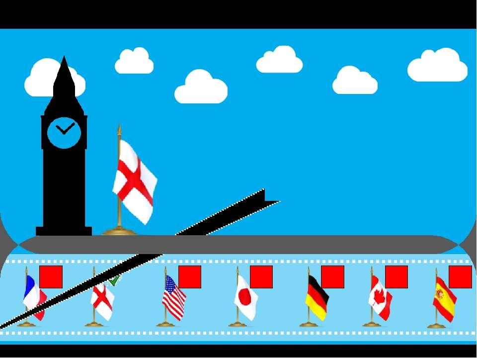 Что это за страна ? (выбери правильный флаг) Верно ! Это Англия! Продолжим св...