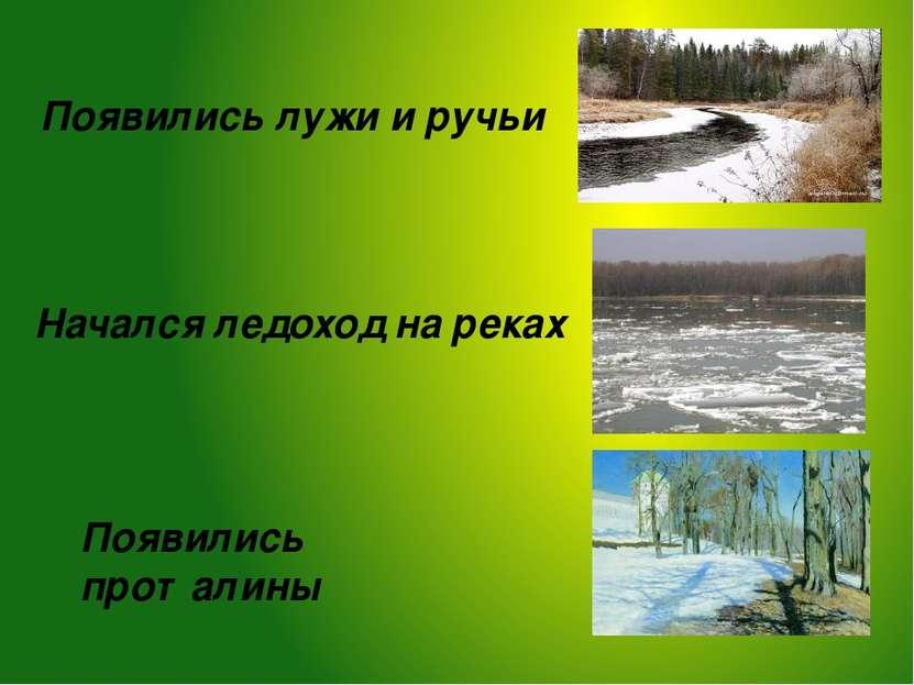 Главный вопрос нашего урока: Какие изменения произошли в природе с наступлени...