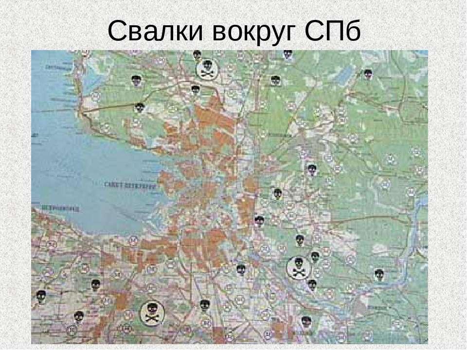 Свалки вокруг СПб