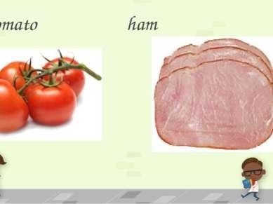 Tomato ham