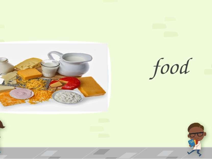 food ПРИМЕЧАНИЕ Чтобы изменить изображение на этом слайде, выберите и удалите...