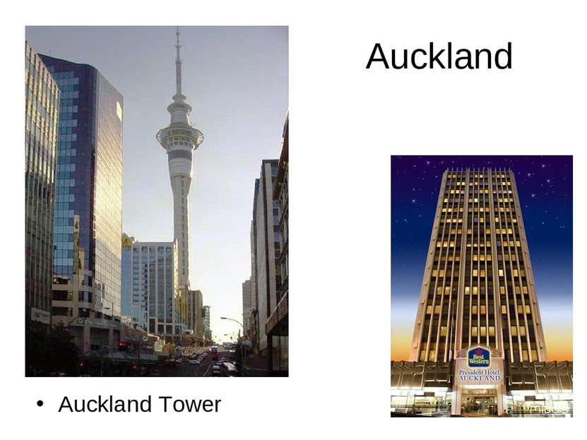 Auckland Auckland Tower