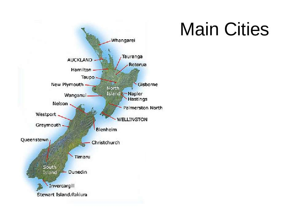Main Cities