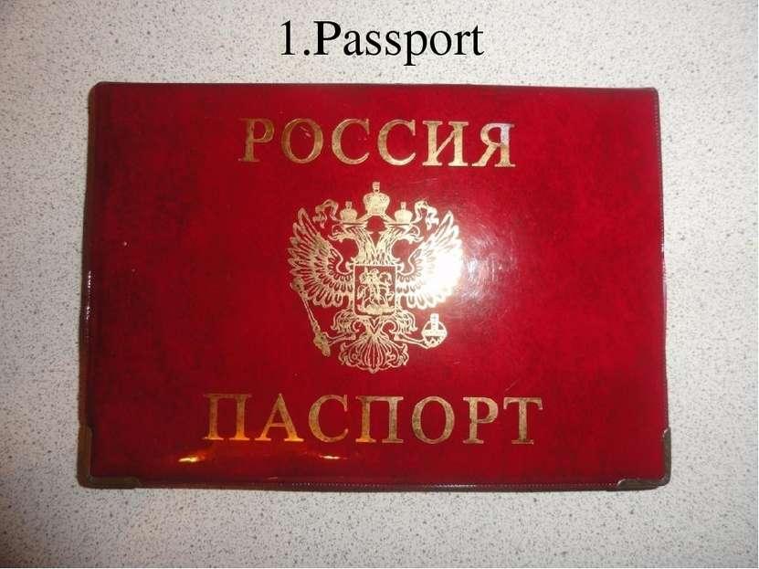 1.Passport