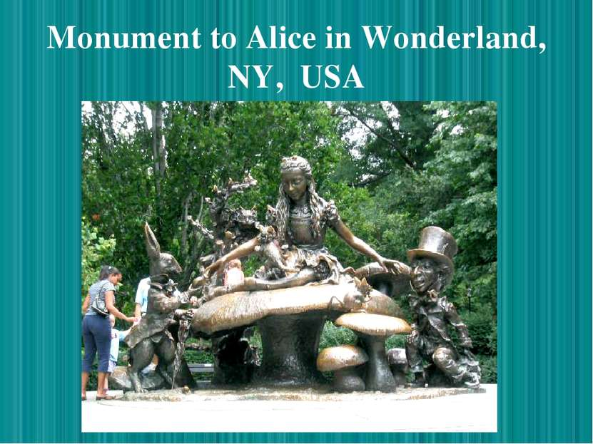 Monument to Alice in Wonderland, NY, USA