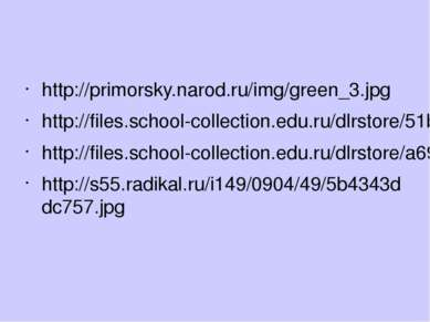 http://primorsky.narod.ru/img/green_3.jpg http://files.school-collection.edu....