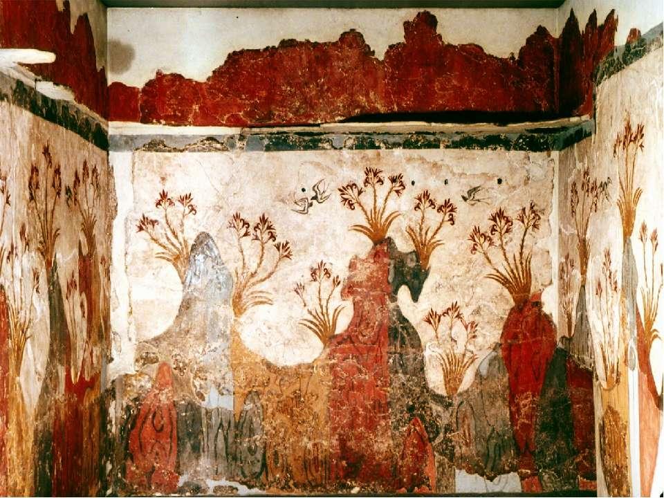 КРИТО-МИКЕНСКАЯ ЦИВИЛИЗАЦИЯ 1600 - 1100 г.г. до н.э. Греция II тыс. до н.э. Д...