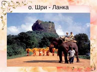 о. Шри - Ланка