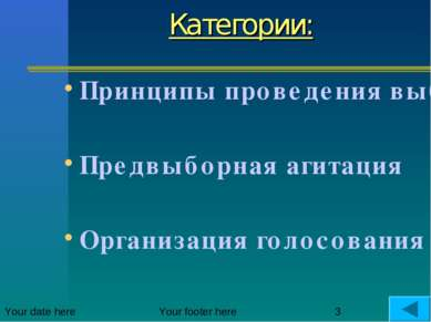 Категории: Принципы проведения выборов в РФ Предвыборная агитация Организация...