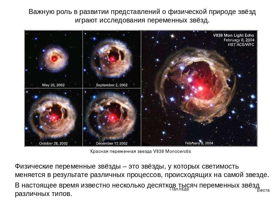 Важную роль в развитии представлений о физической природе звёзд играют исслед...