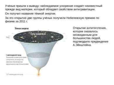 Учёные пришли к выводу: наблюдаемое ускорение создаёт неизвестный прежде вид ...