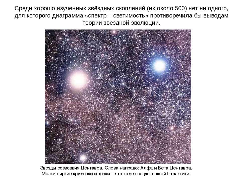 Среди хорошо изученных звёздных скоплений (их около 500) нет ни одного, для к...