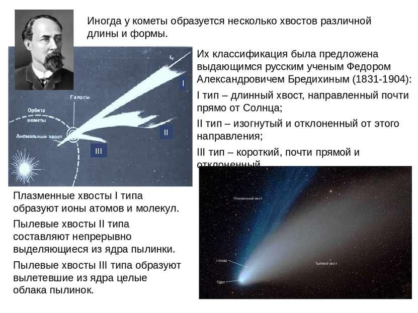 Их классификация была предложена выдающимся русским ученым Федором Александро...