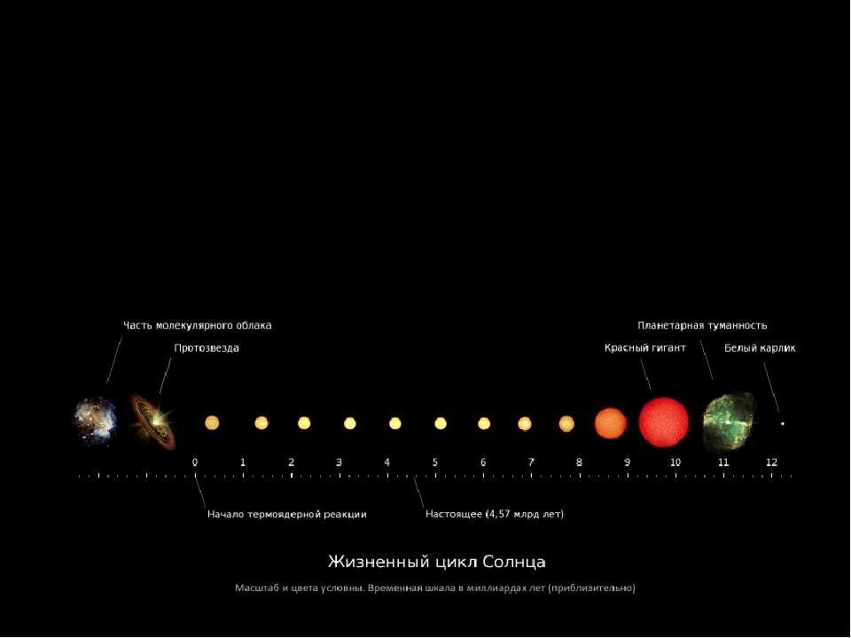 Жизненный цикл солнца Солнце является молодой звездойтретьего поколения(поп...