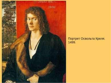 Портрет Освольта Креля. 1499.