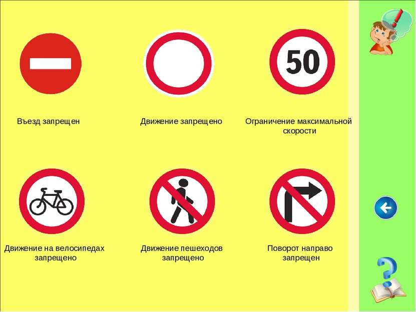 Въезд запрещен Движение запрещено Движение пешеходов запрещено Движение на ве...