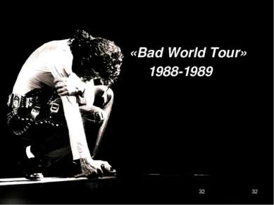 «Bad World Tour» 1988-1989