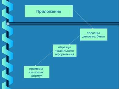 Приложение образцы деловых бумаг образцы правильного оформления примеры языко...