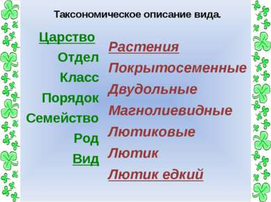 Расположите систематические категории в порядке возрастания. Класс Царство От...