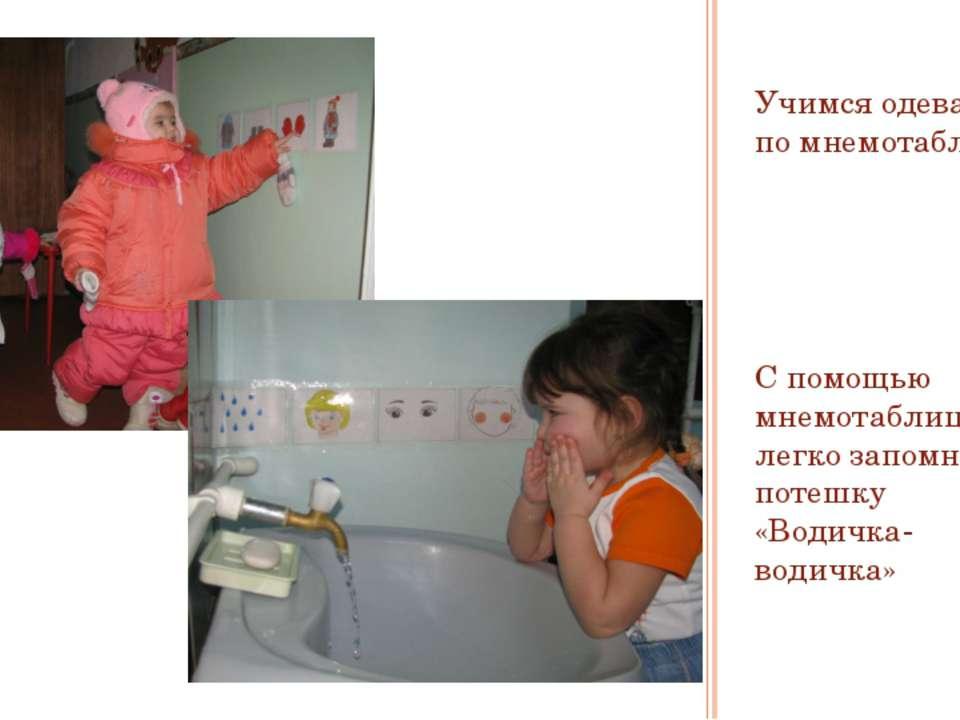 Учимся одеваться по мнемотаблице С помощью мнемотаблицы легко запомнить потеш...