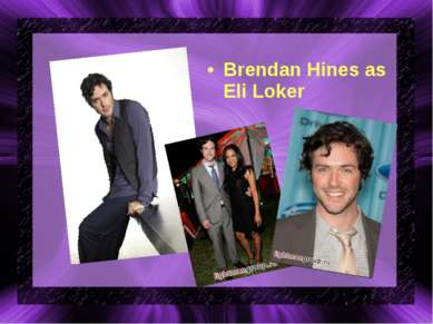 Brendan Hines as Eli Loker