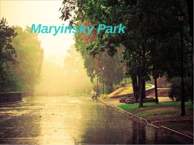 Maryinsky Park Maryinsky Park