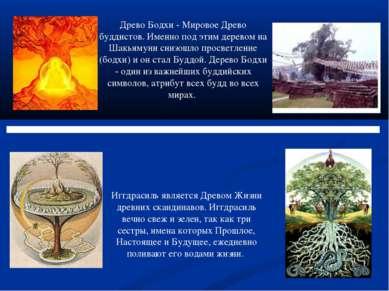 Древо Бодхи - Мировое Древо буддистов. Именно под этим деревом на Шакьямуни с...