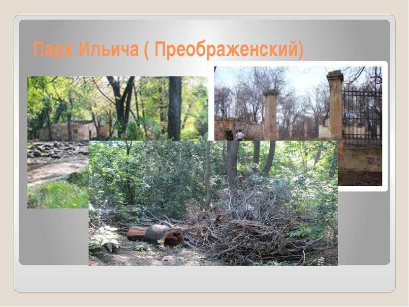 Парк Ильича ( Преображенский)