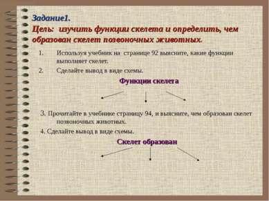 Задание1. Цель: изучить функции скелета и определить, чем образован скелет по...