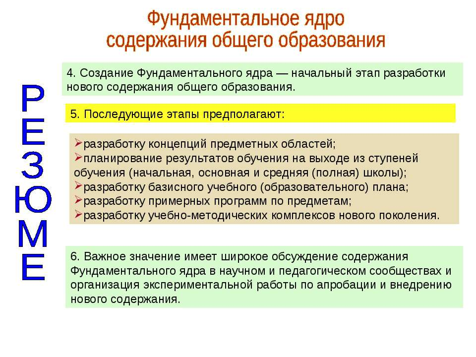 разработку концепций предметных областей; планирование результатов обучения н...