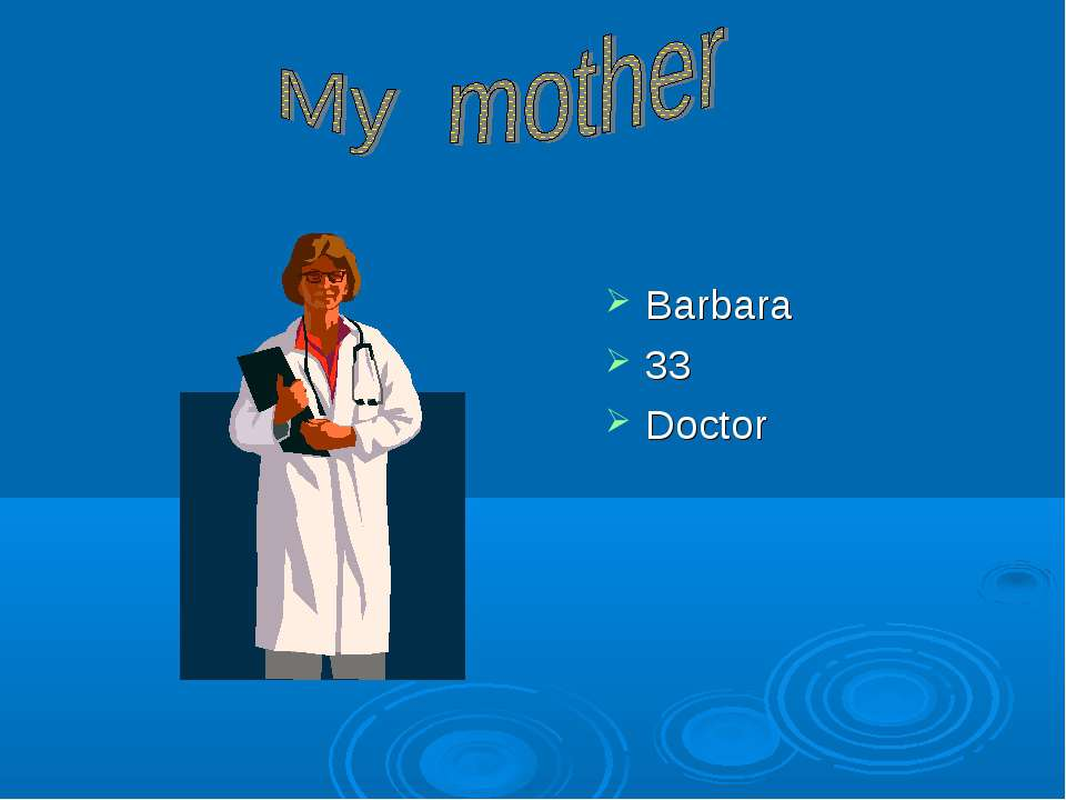 Barbara 33 Doctor