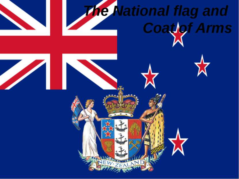 The National flag and Сoat of Arms